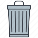 ecology, environment, garbage bin, nature, recycling, trash can, waste icon