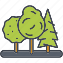 ecology, environment, forest, nature, reforestation, trees, woods icon