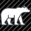 animal, ecology, endangered species, environment, mammal, nature, polar bear icon