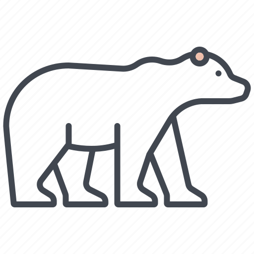 animal, ecology, endangered species, environment, mammal, nature, polar bear icon