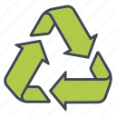 arrows, ecology, environment, nature, recycling, sustainability, waste icon