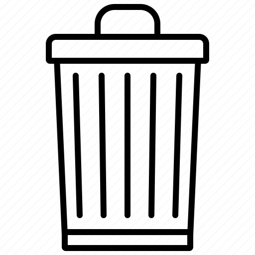 bin, ecology, environment, garbage, nature, recycling, trash can icon