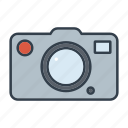 camera, holidays, imaging, summer, travel, vacation icon