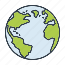 earth, globe, holidays, summer, travel, vacation, world icon