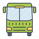 bus, coach, holidays, summer, transportation, travel, vacation icon