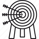 archery, arrows, goal, precision, success, target