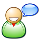 chat, dicussion board, forum, happy, references, talk, user icon