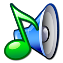 music, sound, speaker icon