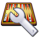 backgammon, engine, spanner icon