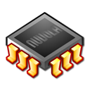 chip, microchip, processor, ram icon