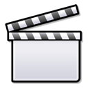 clapboard, film, media, movie, video icon