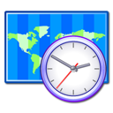 clock, time zone, world icon