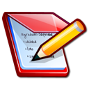 kwrite, notepad icon