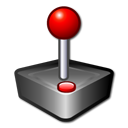 arcade, games, joystick, package icon