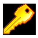 key, pass, password, secure icon