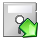 5floppy, mount icon