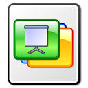 presentation, slides icon
