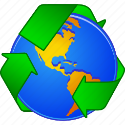 arrow, clean, cycle, environment, nature, recycle, recycling icon