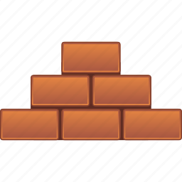 barrier, block, brick wall, building, construction, fence, limit icon