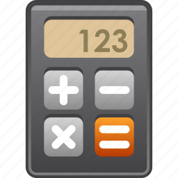 accounting, calc, calculate, calculator, math, mathematics, numbers icon