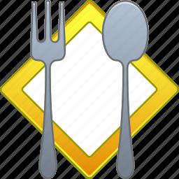 cook, cooking, dinner, fork, kitchen, restaurant, spoon icon