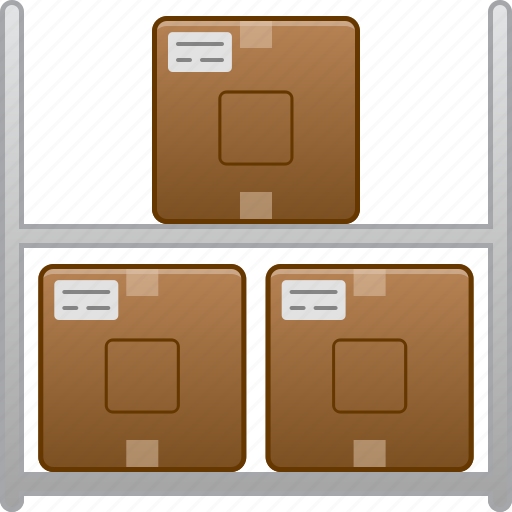 company, goods, logistic, storage, store, transportation, warehouse icon