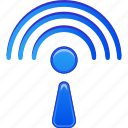 antenna, news, radio, signal, wi fi, wifi, wireless icon