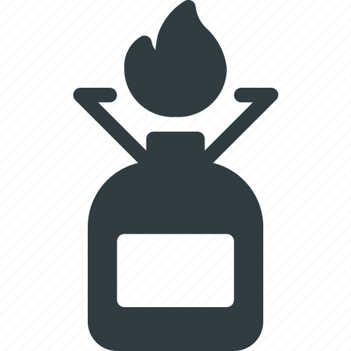 Camp, camping, cooker, fire, gas, tank icon - Download on Iconfinder
