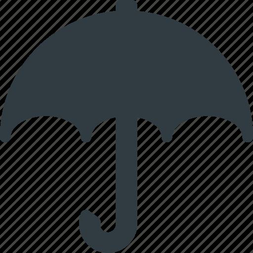 Protect, weather, umbrella, rain icon - Download