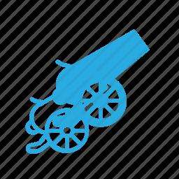 blast, canon, fire, shoot, war icon