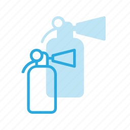 emergency, extinguisher, fighter, fire icon