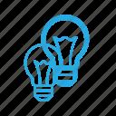 bulb, creative, idea, lamp, light icon