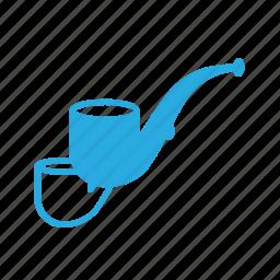pipe, smoke, tabaco icon