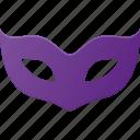 eye, incognito, mask, pride, privacy, private, security icon