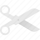 craft, cut, scissor, scissors, trim icon