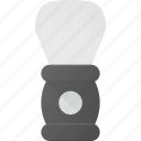 barber, brush, shave, shaving icon