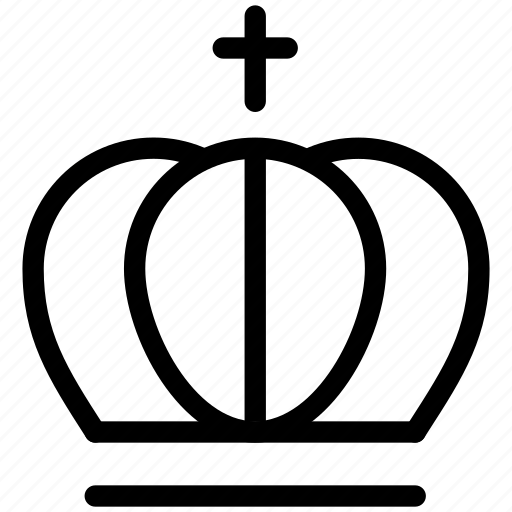 chess, creative, crown, grid, king, line, objects, premium, prince, queen, royal, shape, winner icon
