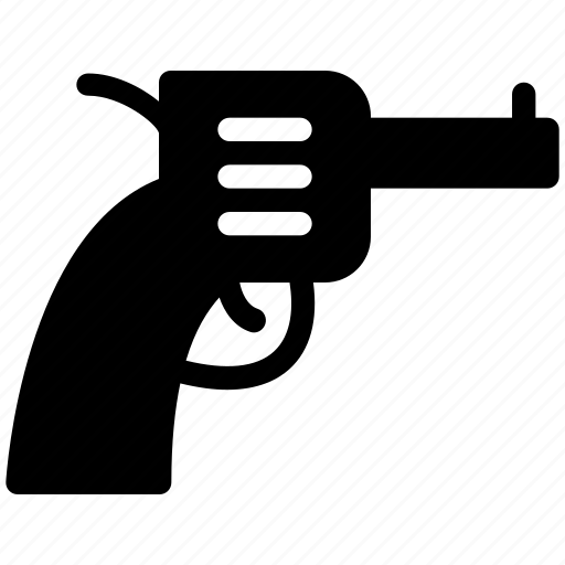 creative, crime, grid, gun, objects, pistol, police, shape, shoot, shot, weapon icon