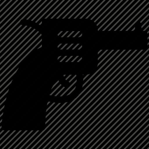 creative, crime, grid, gun, objects, pistol, police, shape, shoot, shot, weapon icon