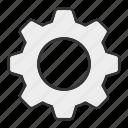 configuration, gear, preferences, setting icon