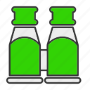 beverage, glass, magnify, zoom icon