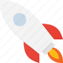 craft, fly, louch, rocket, space, start, up icon