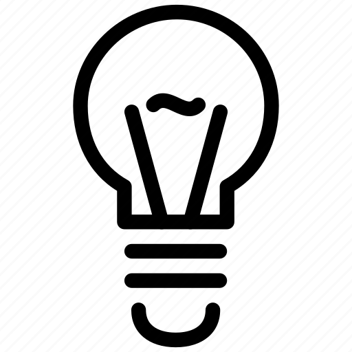 bulb, creative, electric, electricity, energy, filament, grid, light, line, objects, power, shape, tungsten icon