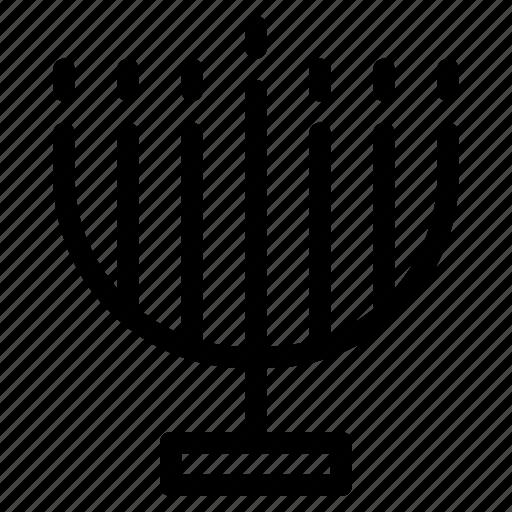 ancient, creative, emblem, grid, light, line, menorah, objects, shape, tabernacle, temple icon