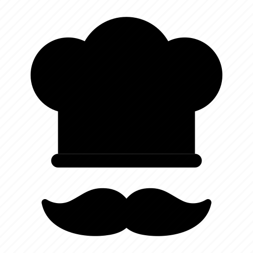 chef, cook, food, hat, restaurant icon