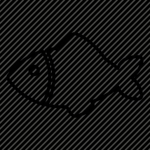 fish, fishing, food, kitchen, restaurant icon