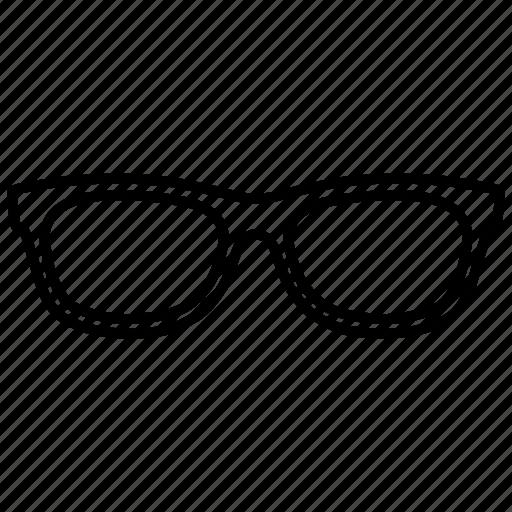 eyeglasses, glasses, sunglasses icon