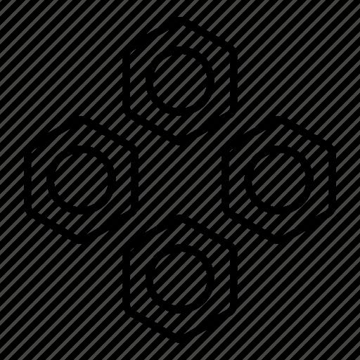 repair, screw, screws, tool, work icon