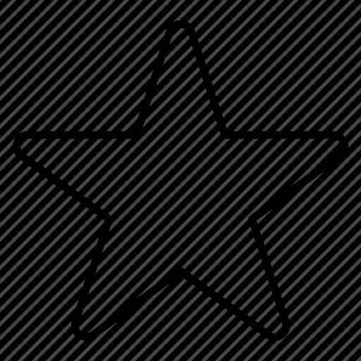 bookmark, favorite, like, star icon