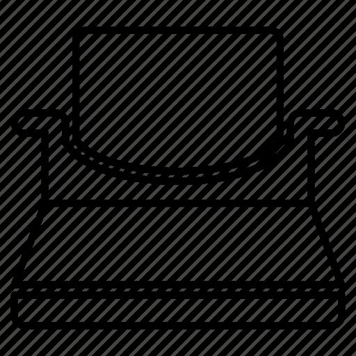 editor, type, writer icon